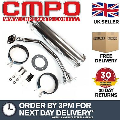 Sports Exhaust 152QMI for 125cc Scooters (SPRTEX010) (#010)
