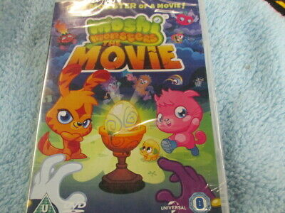 Moshi Monsters,the movie,pal 2 uk dvd,new,sealed,fast post! :)