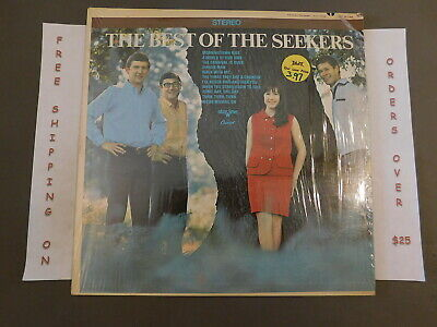 The Best Of The Seekers Greatest Hits Stereo Lp In Shrink St 2746