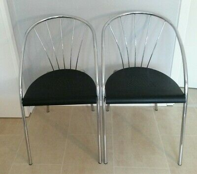 1980's IKEA VINTAGE 2x Lounge chair designed by Tord Björklund made in italy rar