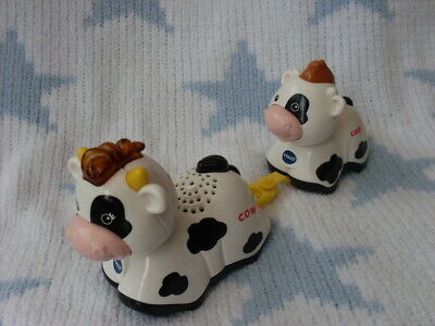 Vtech Toot Toot Farm Animals Interactive Cow And Calf