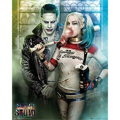 Superhero Movie Suicide Squad Harley Quinn colour poster A2 A1 A0 sizes