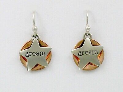 Choice of Expression Far Fetched Sterling Silver Talk Talk Dangle Earrings