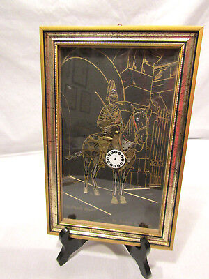 Vtg Life Guard Sentry~Horological Collage~Watch Parts by Ammon Of London~Signed!
