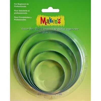 Makin's Clay Cutters 4/pkg-round