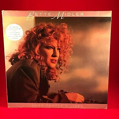 BETTE MIDLER Some People's Lives 1990 VINYL LP + INNER EXCELLENT CONDITION