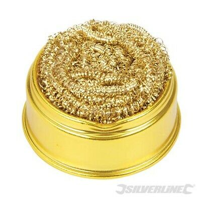 Silverline Tools - Soldering Tip Cleaning Ball & Base - 60 x 60mm - 281271