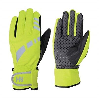 Hy5 Reflective Waterproof Multipurpose Gloves - Yellow/black - X Small
