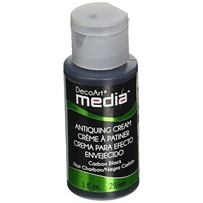 Media Antiquing Cream 1oz-carbon Black