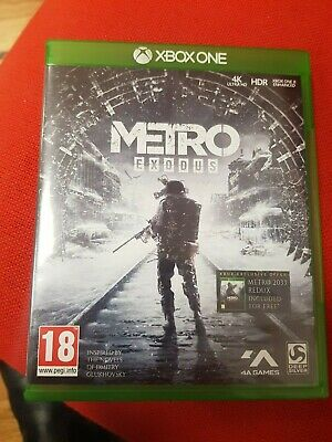 Metro Exodus by Deep Silver Video Game for Xbox One - 2019. Played through once
