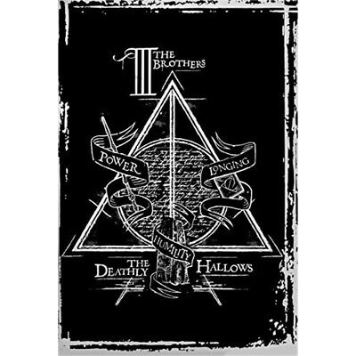 "Harry Potter ""deathly Hallows Graphic"" Maxi Poster, 61 x 91.5cm - Deathly"