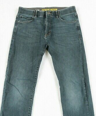 49a7c245 Lee Men's Modern Extreme Motion Slim Straight Leg Jeans - Tag 33x32/Actual  33x31