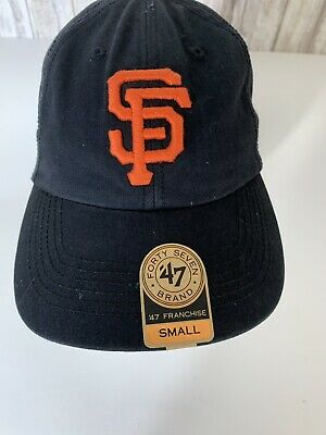 competitive price 6bc8e 8a448 47 Brand San Francisco Giants MLB Fitted Cap Small NWT
