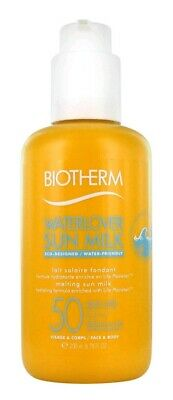 Biotherm Waterlover Sun Milk Face & Body Spf50 200ml. Nuevo.