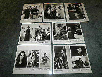 Unlawful Entry(1992)Kurt Russell Orig Set Of 7 Sheets Of Stills