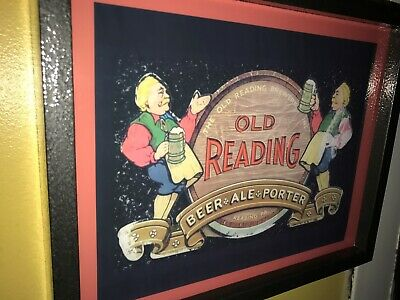 Old Reading Pennsylvania Tavern Beer Bar Man Cave Lighted Advertising Sign