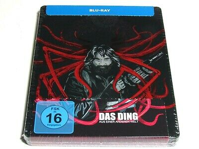 The Thing Blu-Ray Steelbook Exclusive Artwork Import Brand New Oop Rare