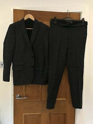 cc9afb5fa42 Men's The Kooples Grey Wool Suit Blazer & Trousers Size 46 Worn Twice