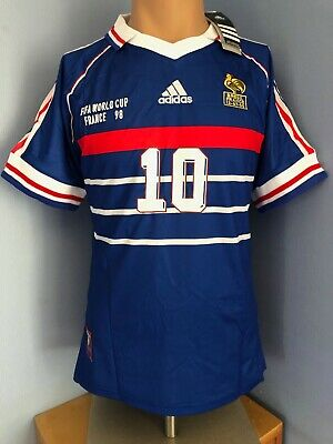 Maillot France 98, taille M : ZIDANE NEUF!!!!! 100% authentique!!!