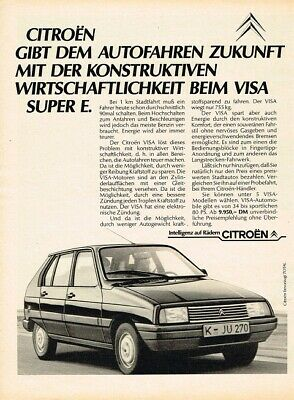 1983 Citroen Visa (DE, 1pg.) Advertisement