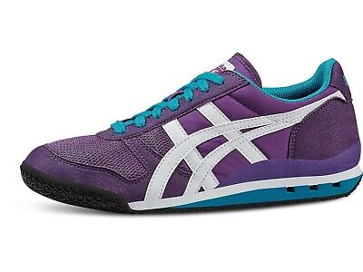 Womens Onitsuka Tiger Ultimate 81 Purple Retro Casual Trainers Shoes Size UK
