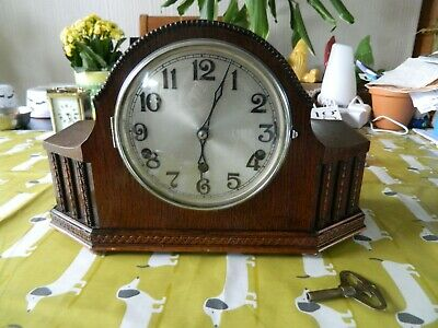 Whittington Westminster Chime Mantle Clock Working