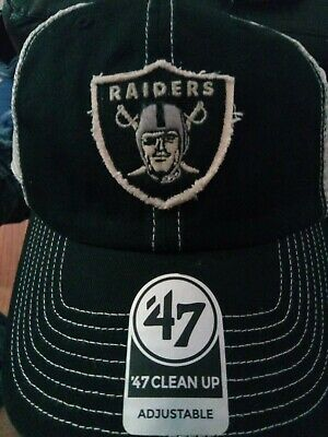 d89945ac NEW NWT OAKLAND Raiders NFL '47 Brand Canyon Clean Up Mesh Snapback ...