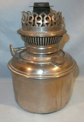 Very scarce 1890's Rayo Nickel Banquet oil lamp font