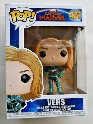 2019 Funko Pop Marvel Captain Marvel Vers #427