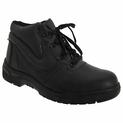 66b9c34543c GRAFTERS WARRIOR MENS NON-SAFETY Leather Waterproof Padded Work ...