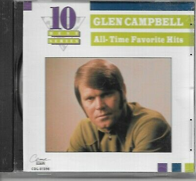 Glen Campbell All Time Favorite Hits Cd Ln