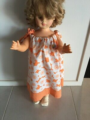 Retro Style Dress Suit Large Walker Or Kader Baby Doll Large Bear Hand Made