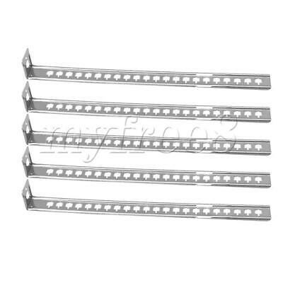 5Pcs Stainless Steel Pipe Supports Brackets Wall Mounted for Tube Support