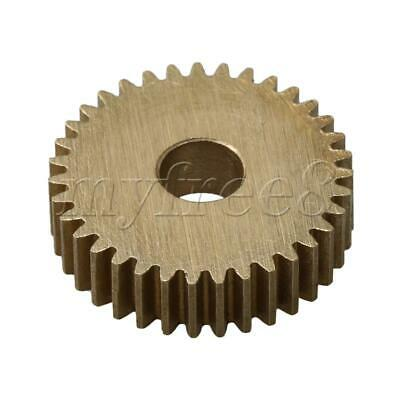 1.85x0.5cm Motor Gear Brass DIY Repair Transmission Part 35 Teeth 0.5 Module