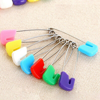 10SETS Baby Diaper Pins Holder Safety Shower Locking Cloth Nappy Hold Clip Hot