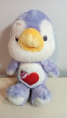 """Vintage Care Bears plush cousin 13"""" Cozy Heart Penguin 4$more to ship each other"""