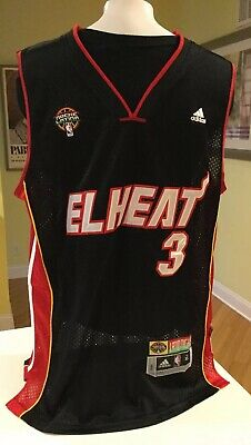 online store 9c5a1 be170 ADIDAS DWYANE WADE Miami Heat 3 official NBA Youth Jersey ...