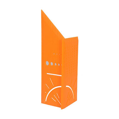 3D Rule Square Layout Miter 45° 90° Metric Rule Orange U8C5