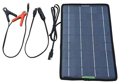 10w Solar Panel 12V Car Boat Camping Caravan Battery Trickle Charger only 420g