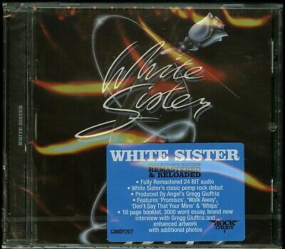 White Sister self titled 1984 CD new Rock Candy Records s/t same remaster