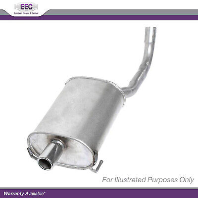 Zafira 1.6 05-09 Exhaust Centre Middle /& Rear Silencer Back Box For Vauxhall