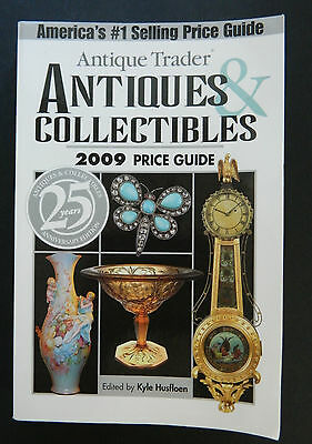 Antique Trader Antiques & Collectibles 2009 Price Guide Quality Photos paperback