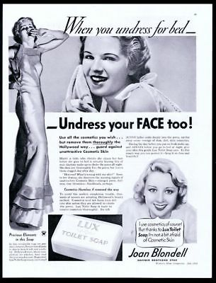 LUX SOAP AD: Joan Helps Sue's Romance ! from 1930's - $15 00 | PicClick