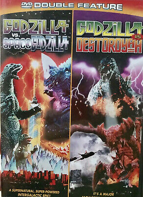 GODZILLA VS. SPACEGODZILLA and GODZILLA VS. DESTROYAH: DVD (DOUBLE FEATURE)