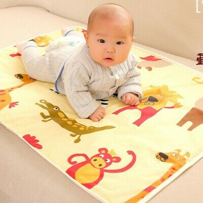 Newborn Baby Changing Pad Infant Cotton Nappy Cover Toddler Waterproof Urine Mat