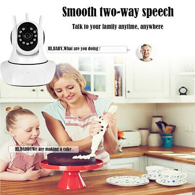 HD1080P Security Home IP Wireless Smart WiFi Audio Surveillance CCTV Camera MO
