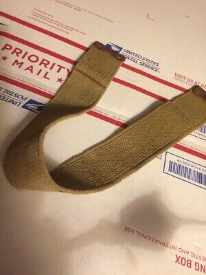 WWII GARAND riflemans Belt Connecting STRAP   WW2 USGI part