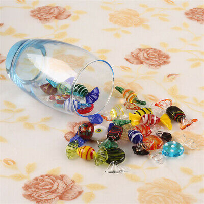 New Murano Glass Candy Vintage Sweets Wedding Xmas Party Decor Gift 10/20 pcs