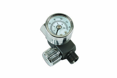 "Connect 30970 | Needle Air Regulator 1/4"" for Spray Guns"