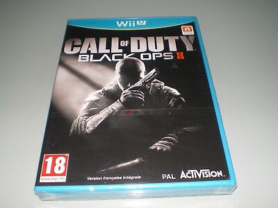Jeu Nintendo Wii U Call Of Duty Black Ops 2 Version Francaise Neuf Sous Blister